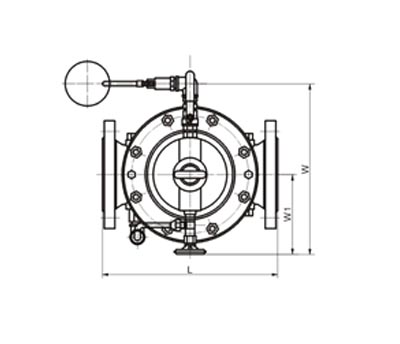 Remote Control Floating Ball Valve